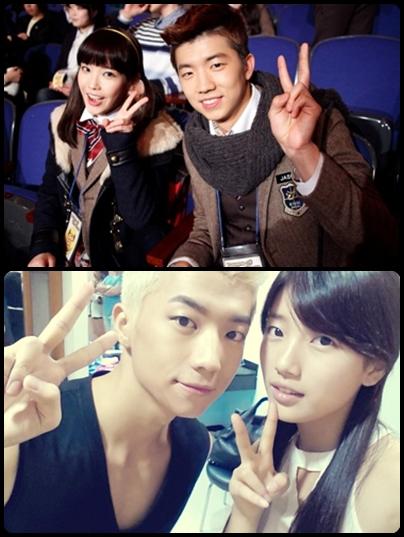 Jiyeon  J  Suzy  S  IU  I Iu And Wooyoung 2012