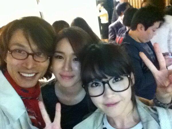 IU,Inna & Stylist Kim Sungil