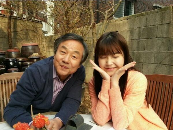 IU with Jung Dong Hwan