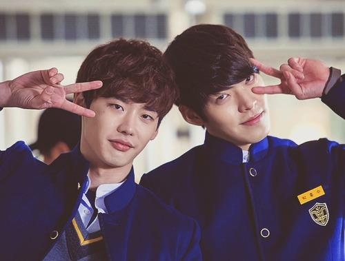 Lee Jongsuk & Kim Woobin