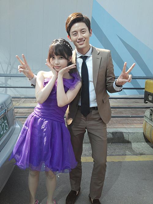 IU with Lee Ji Hoon ('88)