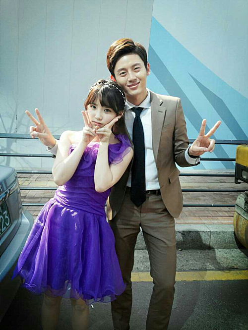 IU with Lee JiHoon ('88)