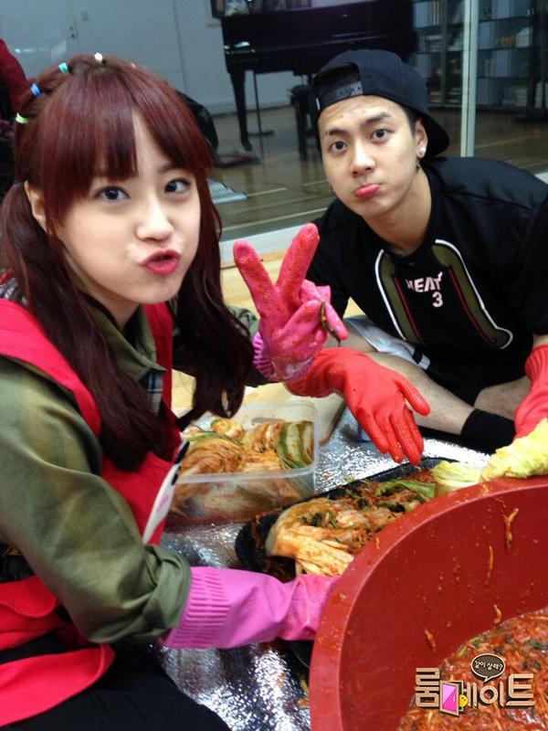 Jackji with Kimchi