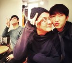 Lee Junki w/ King Taejo (Jo Minki) and Kang Haneul