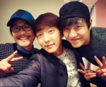 Lee Junki w/ Kim Sung Kyun and Kang Haneul